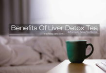 liver detox tea turmeric recipe