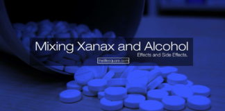 mixing xanax and alcohol effects side effects