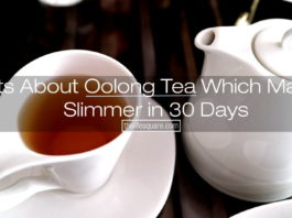 Oolong tea to get slimmer in 30 days.