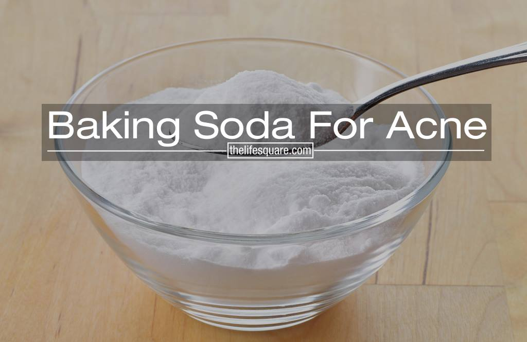Baking Soda For Acne