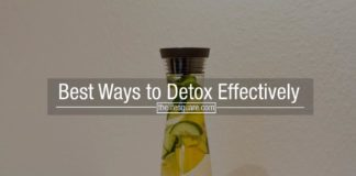 Best Ways to Detox Effectively