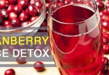 Cranberry Juice Detox