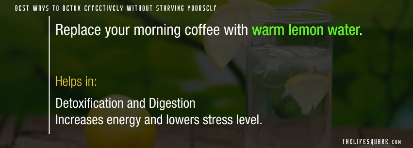 Lemon water detox diet - best ways to detox