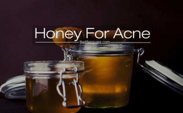 Honey for acne face mask how to use it