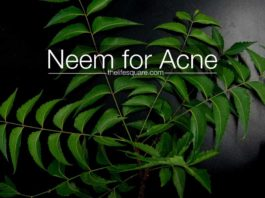 does neem for acne really works