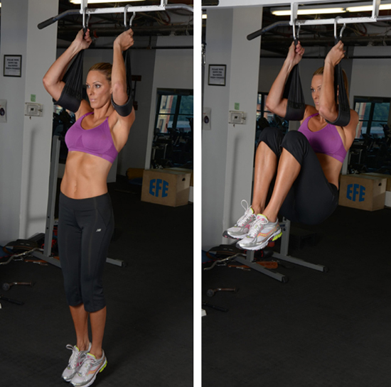Hanging Ab Curls
